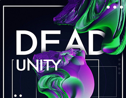 Dead Unity Brand Poster