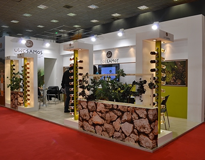 Exhibition Stand for UWC SAMOS, Oenos 2015