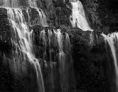 Tad Gneuang Waterfall, Laos