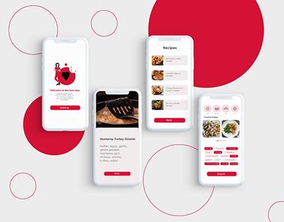 Recipe Mobile Apps UI/UX