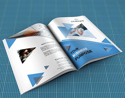 Bi Fold Brochure (A5)