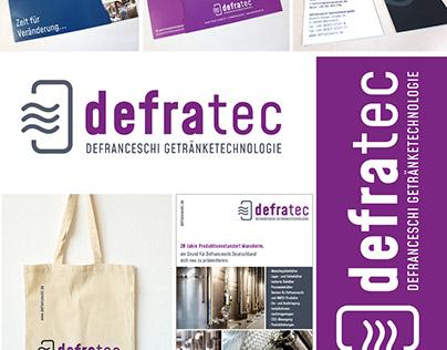 DEFRATEC – Marke, Corporate-Deisgn, Marketing, Print