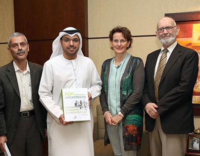 Francine Houben (Mecanoo) at Ajman University