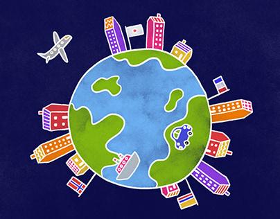 Hostelworld Animation