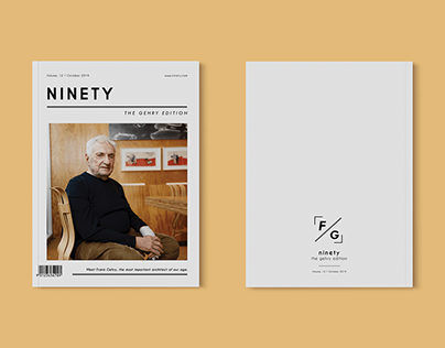 NINETY; The Gehry Edition | Editorial