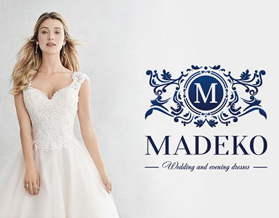 Logo and short guideline for the wedding boutique.