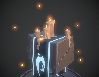 3D Stylized Magic Props