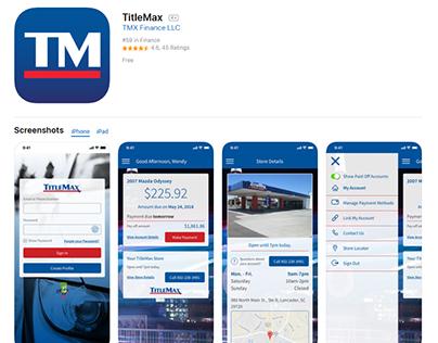 TitleMax Finance eCommerce PWA Developer