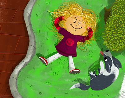 "Children's book ""Frutas, onde elas nascem"""