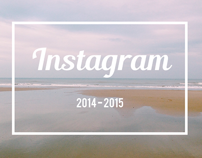 One year of Instagram.
