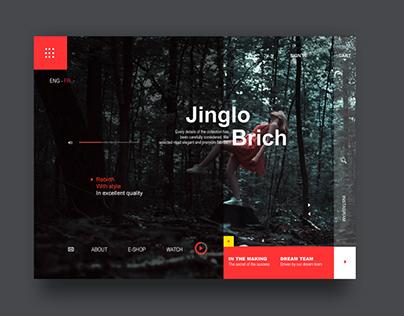 Landing Page - Jinglo Brich