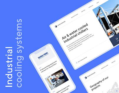 Peter Cooling — Website