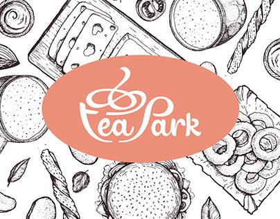 Tea Park Restaurant Branding