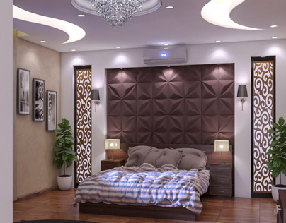Proposals for modern bedroom