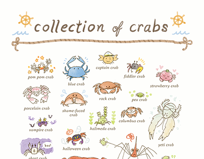 Collection of Crabs