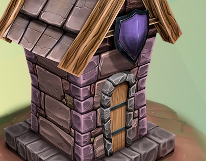 The Armory - Low Poly Game Asset