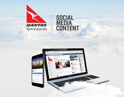 Qantas Social Media Content