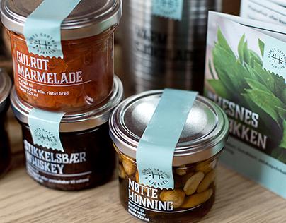Branding - Hesnes gartneri & kjøkken