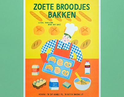 Risoprint bakery 'Zoete broodjes bakken'