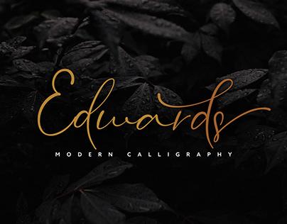 FREE | Edwards Casual Stylish Font