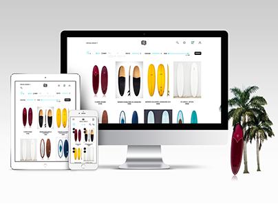 eStore&rental App for surf equipment