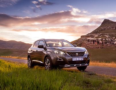 Peugeot 3008 - Automotive Landscape Photography