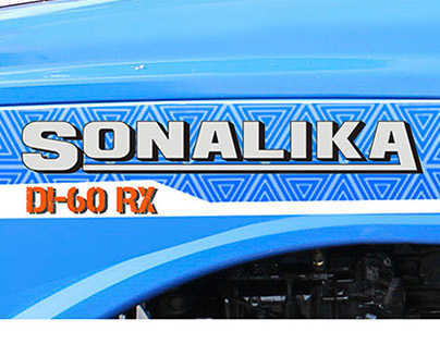 Decal for Sonalika Tracktors
