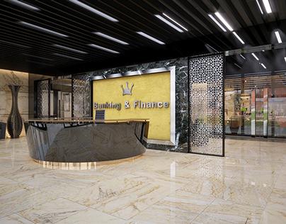OFFICE DESIGN - Luxury bank office