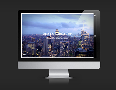 GFI Capital Website Redesign