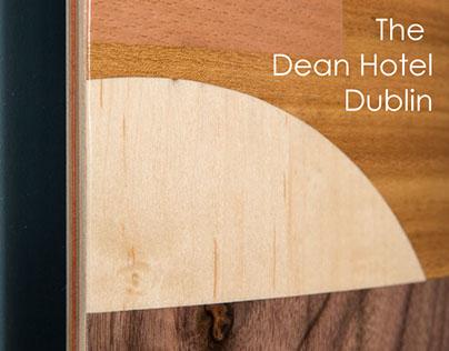 Skateboard Marquetry, The Dean Hotel, Dublin