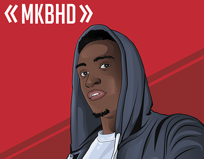 Vector Portrait Of MKBHD