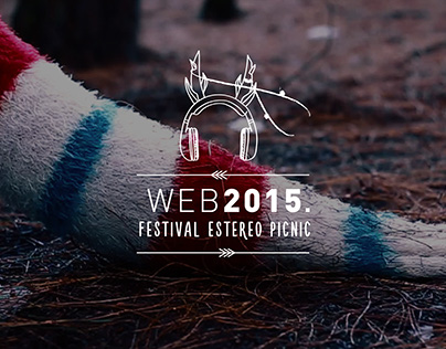 Web Festival Estéreo Picnic. [2015]