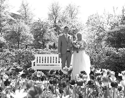 M + M (bröllopsfoto)