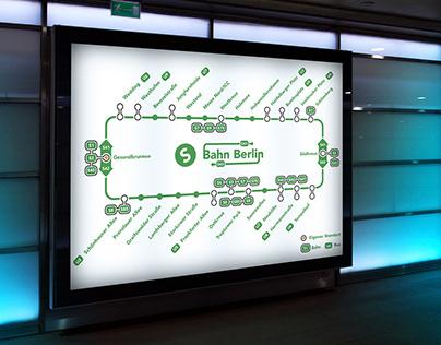 Plan métro berlinois
