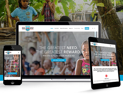 Pacific Islands Medical Aid, Inc.   Website Design
