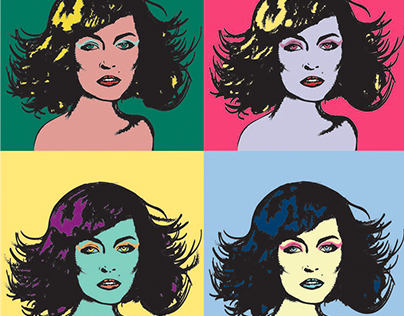 Andy Warhol ispiration.
