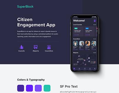 Citizen Engagement App