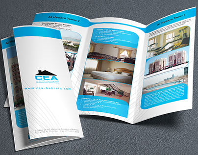Central State Agency Trifold Brochure