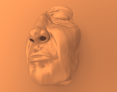Old man´s face