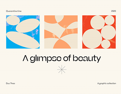 A Glimpse Of Beauty   A graphic collection