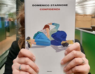 Book Cover. Domenico Starnone, Confidenza, Einaudi