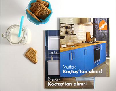 Koçtaş Banyo+Mutfak Katalog Tasarımı - 2015.