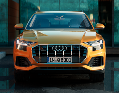 Audi Q8 Video and Images