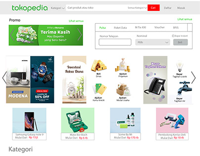 clone web tokopedia