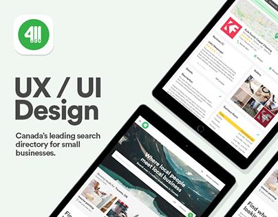 411.ca - Site Redesign