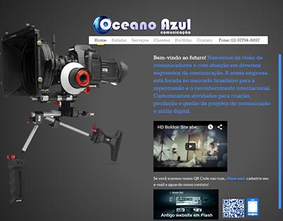 Website Oceano Azul Comunicação