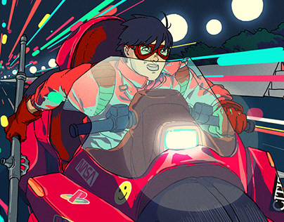 Akira Poster Tribute + Kinetic AR edition