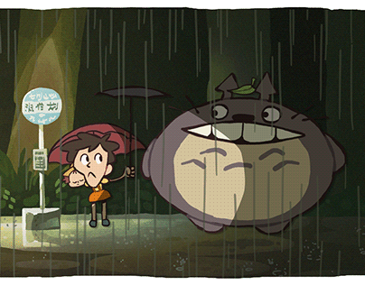 "The Ultimate ""My Neighbor Totoro"" Recap Cartoon"