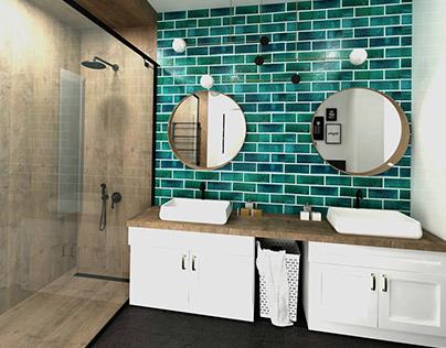 Projekt łazienki Aranżacja łazienki Bathroom