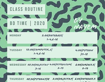 ROUTINE|2020